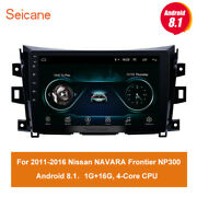 Android8.1 For 2011 2012 2013-2016 Nissan Navara Frontier Np300 Car Radio