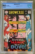Showcase 75 Cbcs 9.0 -- Exceptional White Pages 1st Hawk And Dove - Like Cgc
