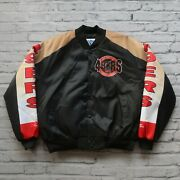 Vintage New San Francisco 49ers Jacket By Chalk Line Size Xl Made In Usa