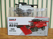 Case Ih 8250 Axial-flow 2020 Farm Show Silver Chase Unit By Ertl 1/64th Scale