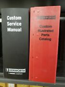 Kenworth C500b Service And Parts Manuals Excellent Condition Free Shipping