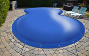 Inflatable Achtform Pool Cover From Truck Tarp 24oz/m Andsup2 48oz/mandsup2