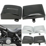Abs Battery Side Cover For Harley Dyna Low Rider Fat Bob Switchback Super Glide