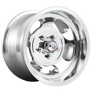 Fits 4 Wheel Us Mag 1pc Indy High Luster Polished 15x10 Jeep Rim 5x127 5x5 -50
