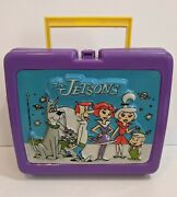 Vintage The Jetsons Lunchbox 1987 Lunch Box Outer Space Celestial Rare