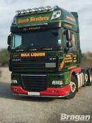 Roof Bar + Leds + Jumbo Spots + Clear Beacon For Daf Xf 105 Superspace Cab Truck