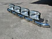 Roof Bar + Leds + Spot Lamps For Mitsubishi Canter Truck Front Stainless Steel