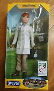 Breyer 522 Veterinarian Laura Vet Doll + Kit Traditional 19 Scale Articulated