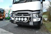 Grill Bar For Renault T Range Long Haul C Construction Polished Stainless Steel