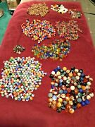 Vintage Marble Collection Wooden Marbles Clay Marbles Steel Marbles Glass Marble