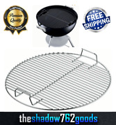Weber Cooking Grill Grate Replacement For 18 1/2 One Touch Kettle Smokey Cooker
