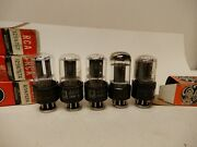 Rca And Ge 12sn7 Vacuum Tubes 5 Total Tested Great On Our Amplitrex