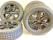 20 Ford F150 Expedition Set 4 04-19 Black Factory Oem Wheels Rims Tires At R