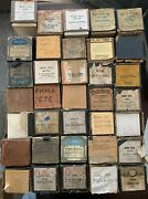 Large Mixed Lot Of 35 Antique Player Piano Rolls - Lot 29