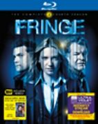 Fringe The Complete Fourth Season Blu-ray 4 Disc, 2012 Best Buy Exclusive Comic