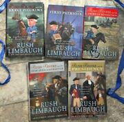 Rush Revere 5 Book Set Collection Lot By Rush Limbaugh 5 New Hardcovers