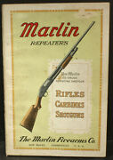 1915 Marlin Repeaters, Rifles, Carbines, Shotguns 136 Page Catalog Very Nice