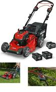 Snapper Xd 82v Max Cordless Electric 21-inch Self-propelled Lawn Mower Kit With