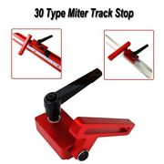 1 X Mini Size Portable 30 Type Miter Track Stop Suit For Work Bench Wood Working
