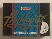 1987 Donruss Baseball Highlights Roberto Clemente Puzzle 56 Cards Sealed 3519