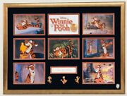 Winnie The Pooh Tigger Voiced By Paul Winchell Signed Autographed Frame 18x24