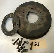 1928 Chevrolet Car Front Brake Drum W/ Inner Plate And Bolts Inv21