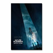 83404 The Maze Runner The Death Cure New Movie Wall Decor Laminated Poster Ca