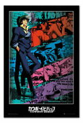 88875 Cowboy Bebop Spike Anime Cork Pin With Pins Decor Laminated Poster Ca