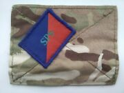 British Army Mtp Blanking Patch. Staff + Personnel Support.