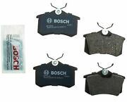 Bosch Rear Disc Brakes Back Brake Pad Set Kit For Audi Vw Click And Check Fitment