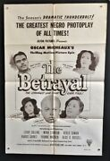 The Betrayal Original Movie Poster Oscar Micheaux 1948 Hollywood Posters