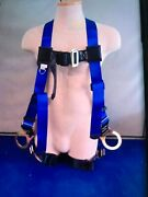 Falltech Contractor Plus Body Harness 3 D-rings Universal Fit Harness Fits Most