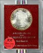 1888-s Morgan Dollar - Redfield Collection Red Holder Ms65 Ngc Ms63