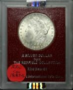 1887-s Morgan Dollar - Redfield Ms65 Red Ngc Ms64