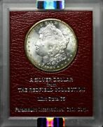 1883-s Morgan Dollar - Redfield Collection Red Holder Ngc Ms63