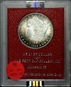 1892-cc Morgan Dollar - Redfield Collection Red 65 Holder Ngc Ms63