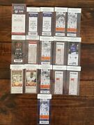 Pete Alonso New York Mets Ticket Milestone Collection Debut Rookie Homer Record