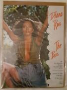 Rare Diana Ross Promotional Poster For The Boss Album, Tapes, And Records