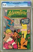 Adventure Comics 359 Cgc 9.4 -- O/w To White Pages Jim Shooter Curt Swan
