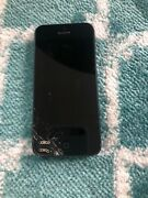 Iphone 5 Black 32gb With Broken Screen On The Bottom Left