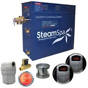 Royal 9 Kw Quickstart Steam Bath Generator Package With Built-in Auto Drain F...