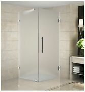 Aston Neoscape Gs 36 X 36 X 72 Completely Frameless Neo-angle Shower Enclo...