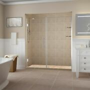 Aston Sdr960ez-ch-6731-10 Belmore Gs Frameless Hinged Alcove Shower Door With...