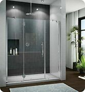 Pxtp59-25-40r-mb-79 Fleurco Platinum In Line Door And 2 Panels With Glass To ...