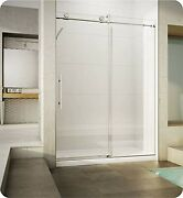 Fleurco Kn57-35-40l-c Kn Kinetik In-line 60 Sliding Shower Door Left And Fi...