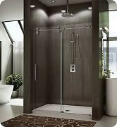 Fleurco Kt57-11-40r-cy Kinetik In-line Sliding Shower Door Right And Fixed Pa...