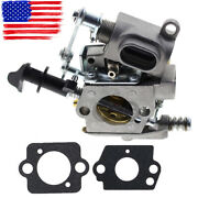 Carburetor Carb For Husqvarna T435 578936901 522007601 Chainsaw With 2pcs Gasket