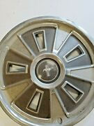 1966 Ford Mustang Stang Hub Caps Pair Two