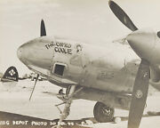 Nose Art Wwii P-38 Lightning Comely Coolie 1945