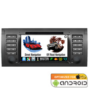 Android Navigation Gps Bluetooth Car Player Radio Stereo Dvd For Bmw E39 96-04